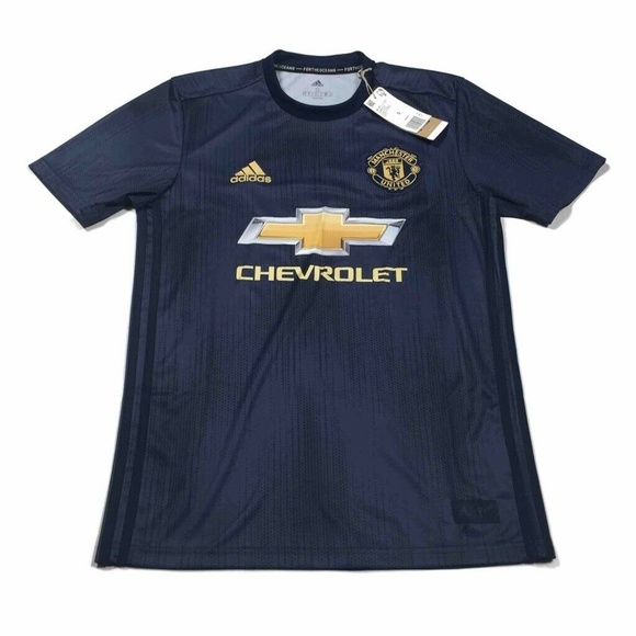 Chevy Manchester United Adidas Mens Jersey Small Nwt
